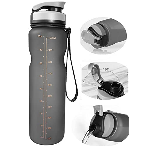 Travel Water Bottle Hydration Packs Portable 1000ml Flasks Camping Running