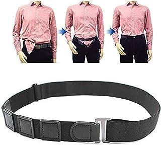 Men's and Women's Belt, Lesgos Shirt Lock Belt Near Shirt Stay Tuck It Belt No Slip Keeps Near Shirt Stays Tucked in Under...