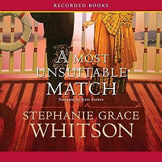 A Most Unsuitable Match audiobook cover art