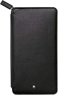 113304 Meisterstück Soft Grain Travel Wallet 13cc With Zipper