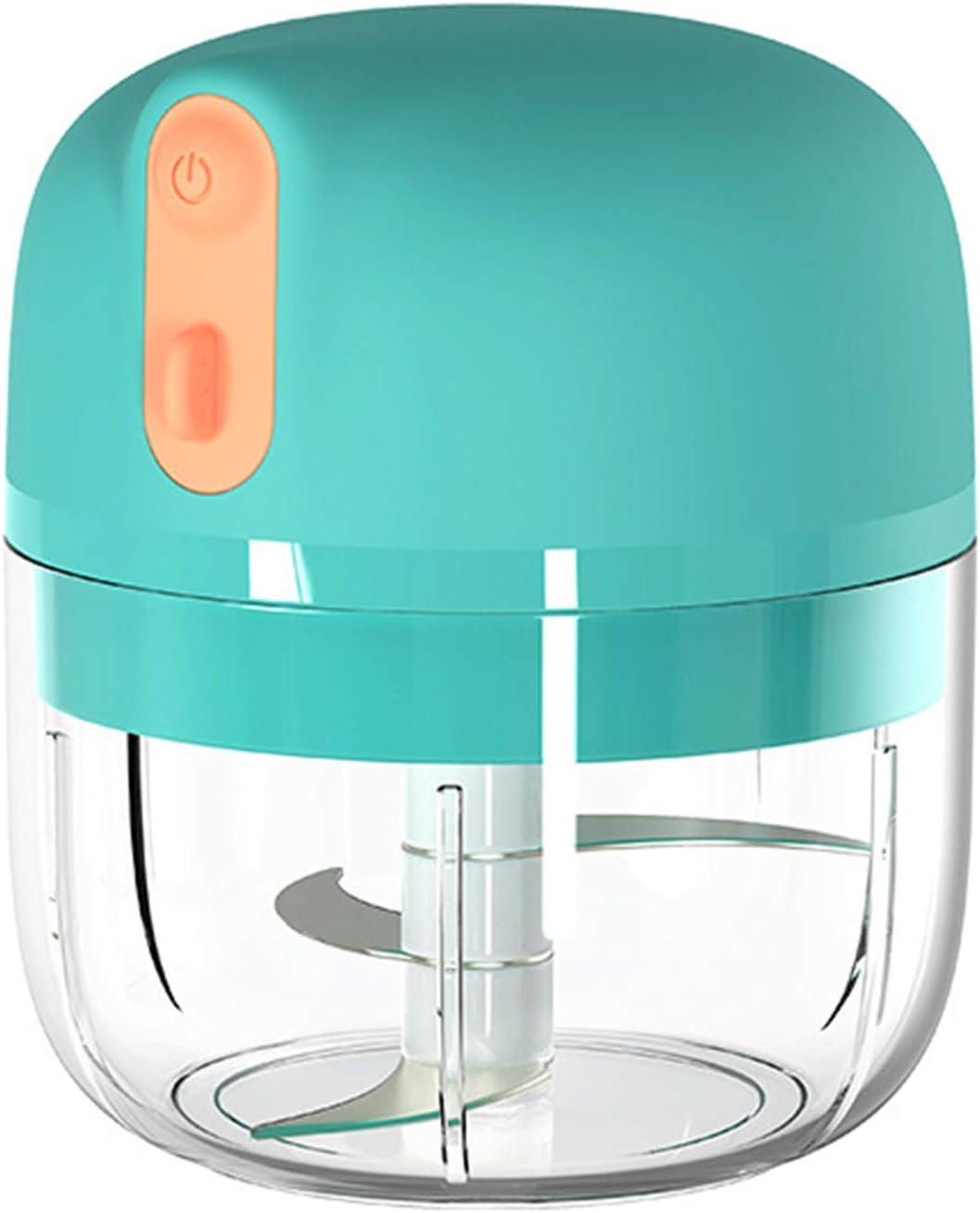 BL 1 machine /à broyer sans fil portable et compact IP68 /étanche coupe ail-fruits-l/égumes-oignons-salade Saicowordist Mini hachoir /électrique