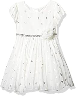 Youngland Girls Special Occasion Holiday Dress, Ivory
