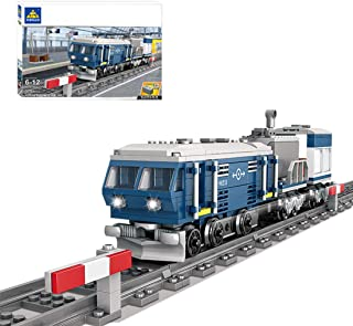 OATop 375 Teile City Güterzug Verbrennungsmotor Zug Baustei