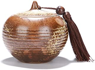 Céramique Thé Bocons Ge Seal Thé Céramique Pu'er Tasse à thé de Tea Boîte de stockage Réservoir de stockage Jar (Color : Z...