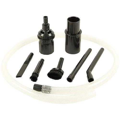 Kit d'accessoires pour aspirateurs pour nettoyage PC, clavier, voiture, etc.