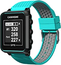 CANMORE TW-353 GPS Golf Watch - Key Course Data and Scorecard on Your Wrist - Minimalist & User Friendly - 38,000+ Free Courses Worldwide and Growing - 4ATM Waterproof - 1-Year Warranty (Turquoise)