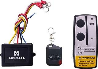 LIEBMAYA Draadloze lier afstandsbediening voor vrachtwagen, jeep, ATV, SUV, 12 V schakelaar handset