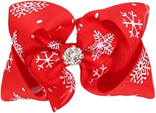 Christmas Merry Wishes Christmas Baby Girls Toddler Kids Bunny Feather Bow Knot Turban Headband Hairband Headwrap Headwear...