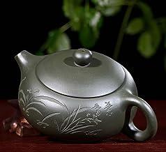 Yixing fioletowy gliniany czajniczek autentyczny słynny ręcznie robiony zestaw do herbaty z surowej rudy Dingshu miasto fi...