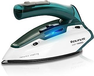 Taurus Easy Travel Plancha viaje, 1150W, 120, Acero Inoxidable, Verde, Color blanco [Clase de eficiencia energética A++]
