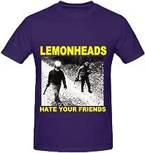 Snowl The Lemonheads Hate Your Friends Tour Funk Mens O Neck Slim Fit Shirts