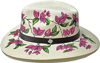 "MARTHA BETANZOS -""Sombrero bugambilias rosas"""