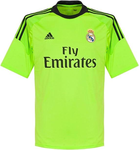 adidas Camiseta Portero Real Madrid 13-14 Verde Talla L ...