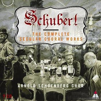 Schubert : Complete Secular Choral Works Volume 1 - 'Transience'