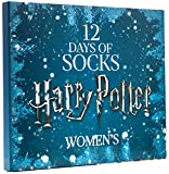 LIMITED EDITION WOMEN'S HARRY POTTER 12 DAYS OF SOCKS SET for Size 4 - 10 (CREW & LOW CUT SOCKS)