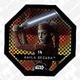 rewe Star Wars Cosmic Shells Normal 14paillettes AAYLA SECURA + WIZUALS Stickers