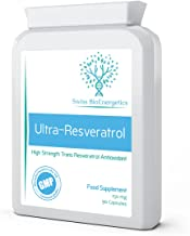 Ultra-Resveratrol 150mg 90 Capsules - High Strength 150mg Trans Resveratrol - High Potency Targeted Release Antioxidant Supplement