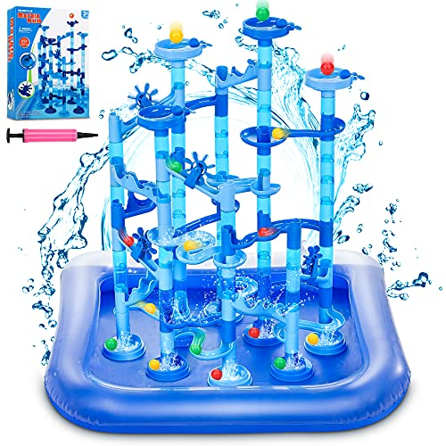 GOGODATE Blue Marble Run with Water Mat...