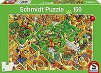 Labyrinth. Puzzle 150 Teile: Kinderpuzzle Standard