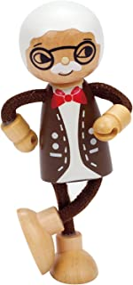 Hape Modern Family Wooden Grandfather Doll