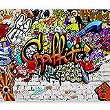murando Papier peint intissé 350x256 cm Décoration Murale XXL Poster Tableaux Muraux Tapisserie Photo Trompe l'oeil Graffiti f-A-0348-a-b