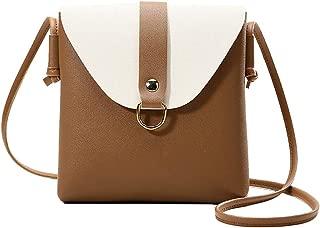 COAFIT Women's Satchel Bag Flap Cover Mini Phone Bag Shoulder Bag for Outdoor