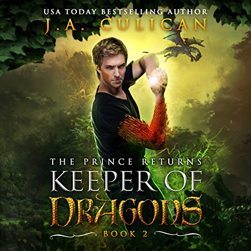 Keeper of Dragons Book 2: The Elven Alliance audiobook cover art