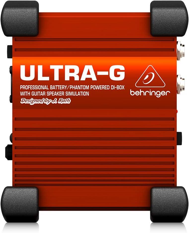 Behringer Ultra-G GI100 Super special price Professional Battery DI- Houston Mall Powered Phantom