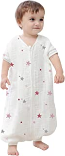 Kisbaby Unisex Baby Autumn Draped Muslin Lightweight Early Walker Wearable Blanket 1.0 TOG