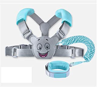 Toddler Leash Baby Harness and Reins, Cute Anti-Lost Child Leash with Breathable Cushion and Security Lock(4.9ft/8.2ft) Toddler Harness Safety Leashes