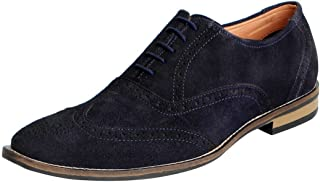 FAUSTO Men's Leather Brogue Shoes