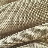 Tela por metros de cortina - Visillo - 40% lino, 60% algodón - Ancho 280 cm - Largo a elección de 50 en 50 cm | Visillo tejido natural, beige
