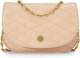 CHANEL Pink Quilted Lambskin Shoulder Bag (Pre-Owned)