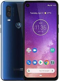 موتورولا هاتف ون فيجين XT1970-3 بذاكرة رام 4 جيجابايت وذاكرة داخلية 128 جيجابايت لون أزرق ياقوتي متدرج يدعم تقنية 4G LTE