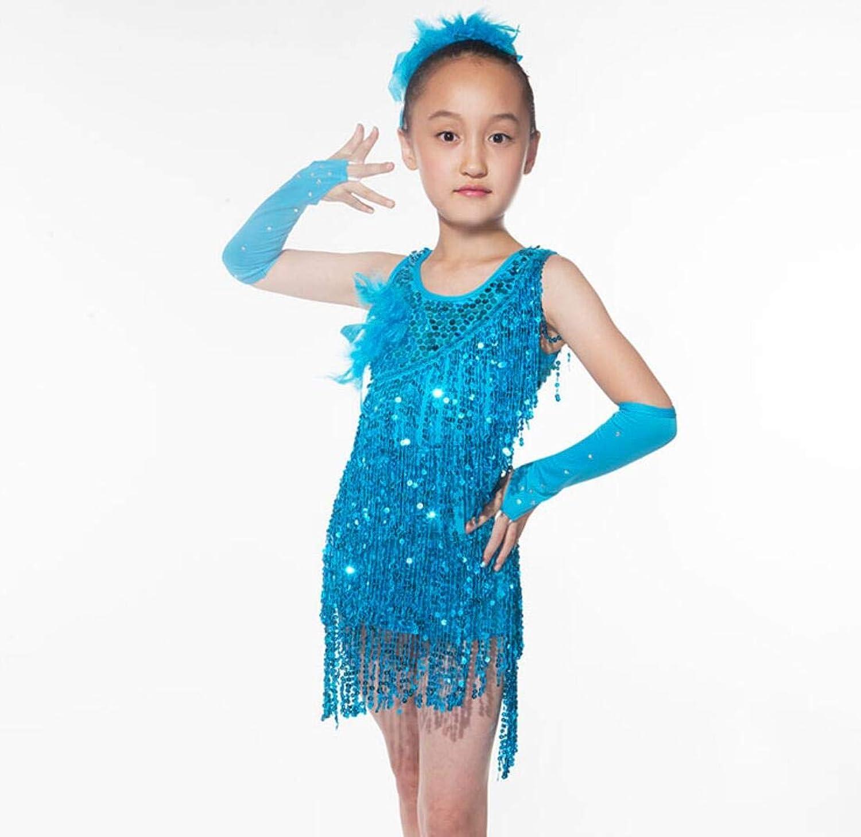 ZYLL Lateinamerikanische Tanzkostüme für für für Frauen, Lateinamerikanische Tanzkostüme mit Fransen, Tanzkostümwettbewerbe,6,S B07PHKCY61  Neuer Markt 9e6251