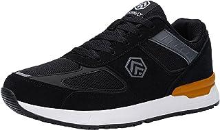 DURA-ANTISKID Zapatos de Seguridad Hombre Comodo SRC Zapatillas de Seguridad Punta de Acero Calzado de Seguridad Deportivo