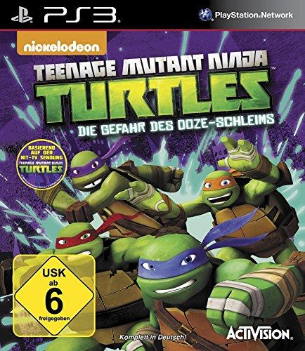 Teenage Mutant Ninja Turtles - Die Gefahr des Ooze-Schleims - [Playstation 3]