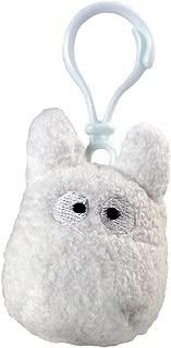 My Neighbor Totoro Plush Backpack Clip Totoro White 6 cm Arrow Studio Ghibli