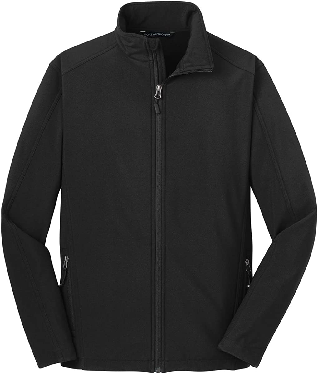 Port Authority Men's Big Cheap sale Translated And Fleece Shell Tall Soft