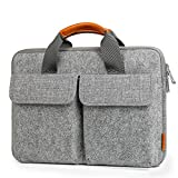 Inateck 13/13,3 Zoll Laptoptasche Hülle Filz Aktentasche kompatibel mit MacBook Air/MacBook Pro...