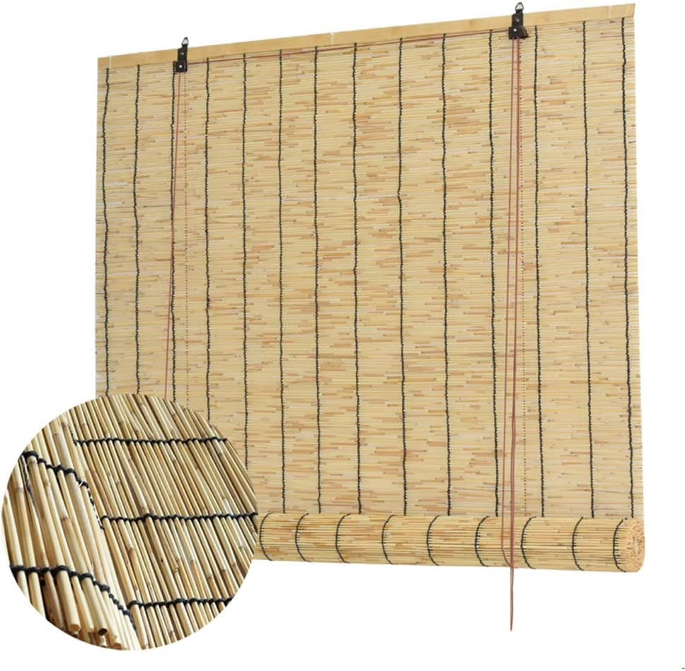 It is very popular LIUU Bamboo Roll outlet Up Window Blind Roman Shade Sun R Shades