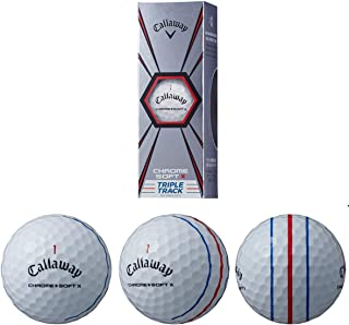 Callaway Chrome Soft X Triple Track Technology - 3 Ball Sleeve