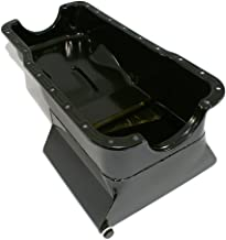 Assault Racing Products A7475-PBK for Ford 351W 7qt Black Drag Style Front Sump Oil Pan SBF