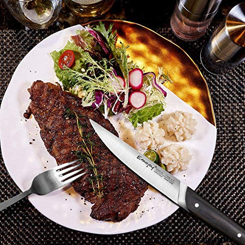6-piece Steak Knife Set By Emojoy