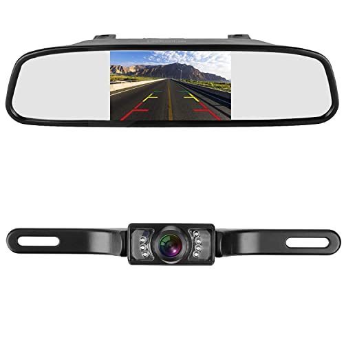 Outstanding Rearview Mirror Backup Camera Amazon Com Wiring Cloud Hisonuggs Outletorg
