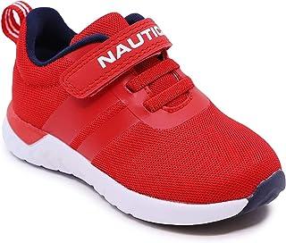 Nautica Kids Girls Fashion Sneaker Running Shoe Strap/Slip O