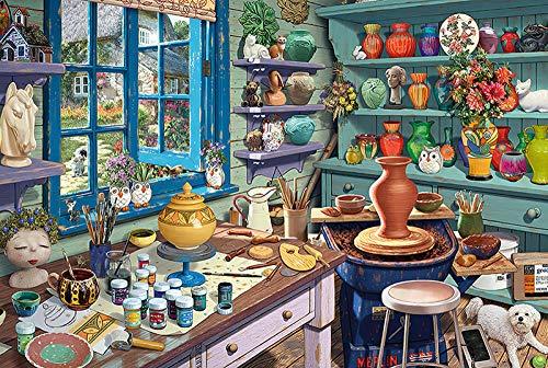 194Tdfc Puzzles 1000 Teile Erwachsene Holz Ölgemälde Die Landschaft Lernspielzeug Für Kinder Jugendliche Klassisches 3D Hd-Poster/Werkbank