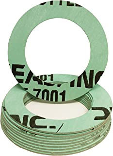 0.31 Pack of 50 Green//Blue//White 1//32 Thick Aramid//NBR Full Face Gasket 3 Pipe Size Pressure Class 150# Sterling Seal CFF7001.300.031.150X50 7001 Compressed Non-Asbestos