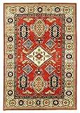 Nain Trading Kazak Royal 273x184 Orientteppich Teppich Beige/Orange Handgeknüpft Pakistan