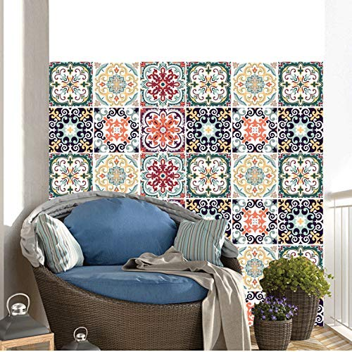 Tile Stickers Decor-Great for Room,Livingroom,Walls,Kitchen,Bedroom and More, Wall Stickers Decals (7)